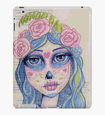 Sugar Skull Girl 1 of 3 iPad Case/Skin