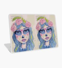 Sugar Skull Girl 1 of 3 Laptop Skin