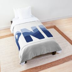 PNW Mountains Comforter