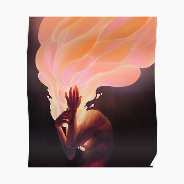 Burning thoughts  Poster
