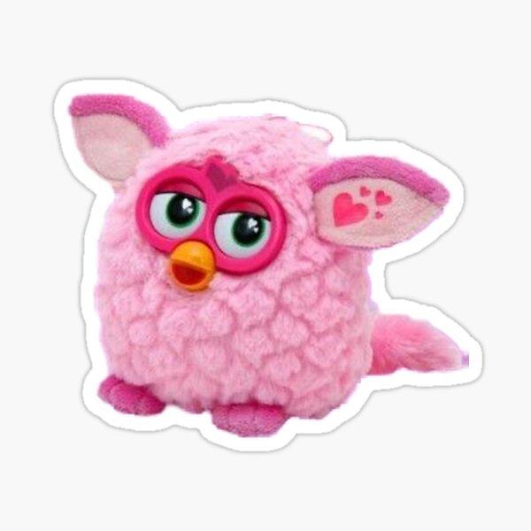 Rosa Furby Pegatina