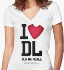 Donegal Women's Fitted V-Neck T-Shirt