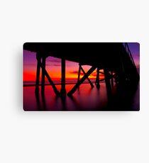 Semaphore Sunset Canvas Print