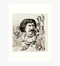 Achille Lemot Laurent de Rillé par Achille Lemot Art Print