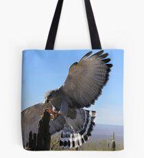 Gray Hawk ~ Brake Check! Tote Bag