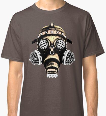 Steampunk / Cyberpunk Gas Mask #1B Steampunk T-Shirts Classic T-Shirt