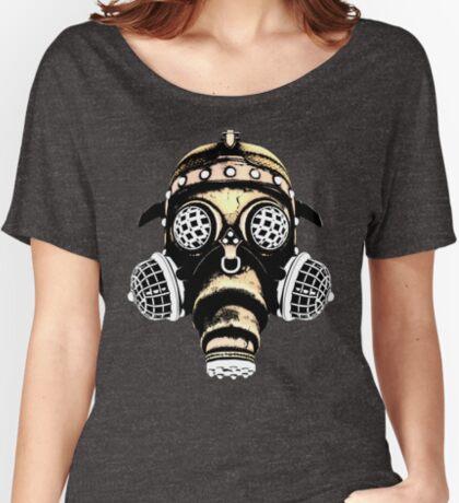Steampunk / Cyberpunk Gas Mask #1B Women's Relaxed Fit T-Shirt