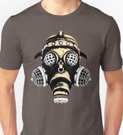 Steampunk / Cyberpunk Gas Mask #1B Steampunk T-Shirts T-Shirt