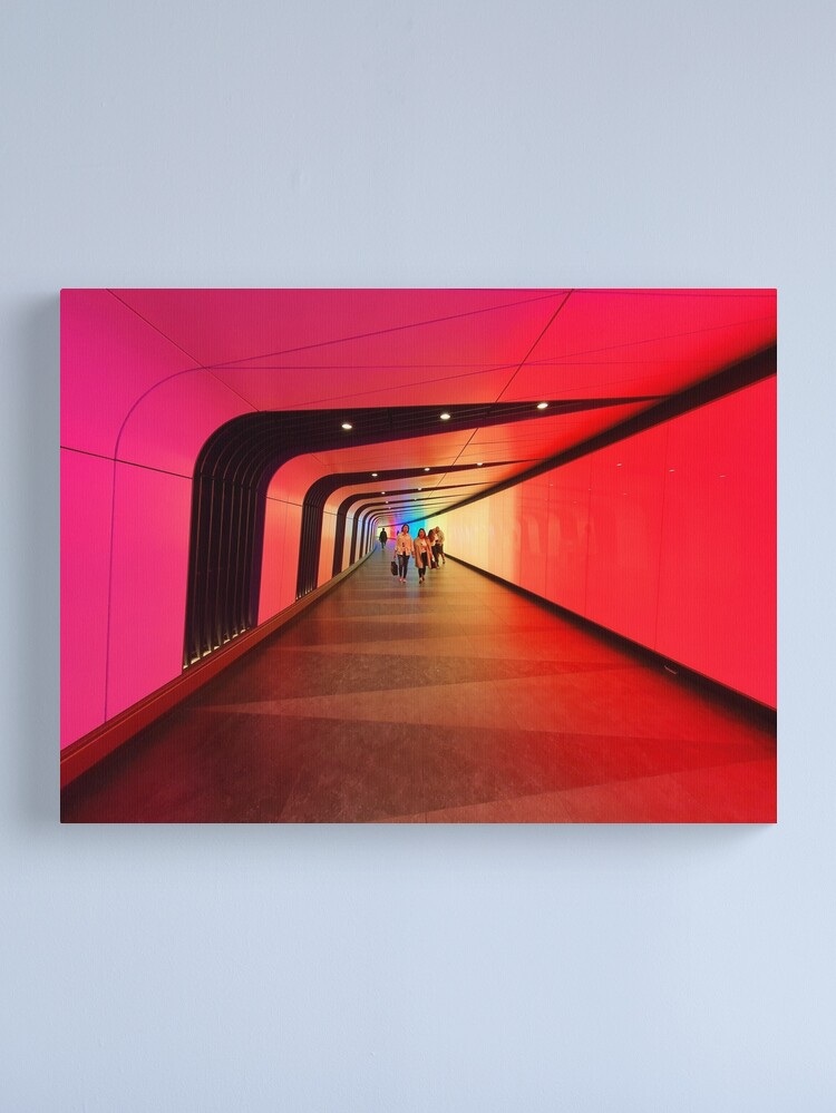 Alternate view of The Light Tunnel Canvas Print
