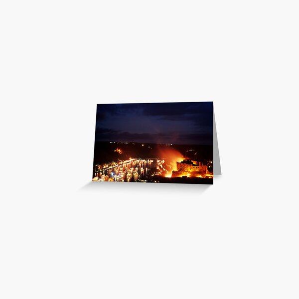 Rhine in Flames 1 Greeting Card