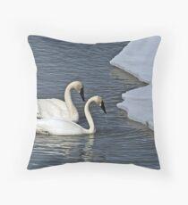 Spring Migration Throw Pillow