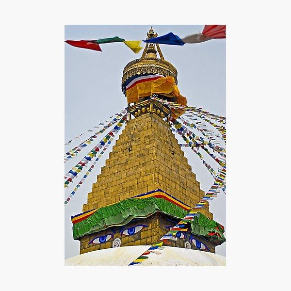 Boudhnath Stupa Photographic Print