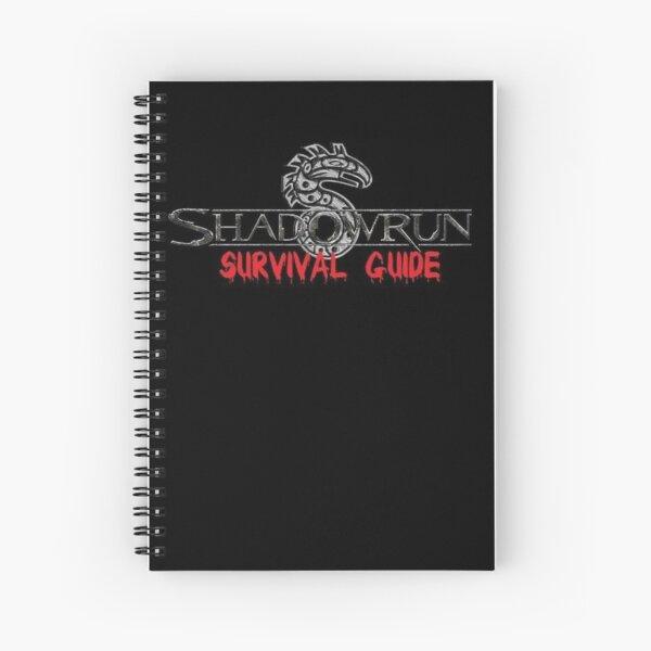 Shadowrun Survival Guide Spiral Notebook