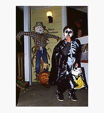 My Son, One Halloween Photographic Print