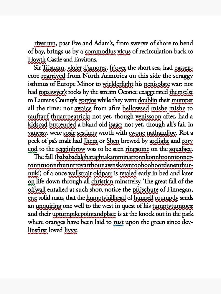 Finnegan's Word by stamppunct