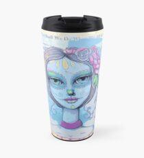 Sugar Skull Girl 2 of 3 Travel Mug