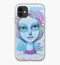 Sugar Skull Girl 2 of 3 iPhone Case