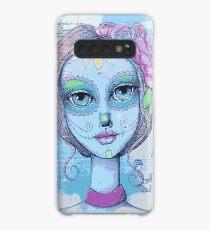 Sugar Skull Girl 2 of 3 Case/Skin for Samsung Galaxy