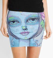 Sugar Skull Girl 2 of 3 Mini Skirt
