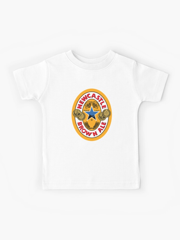 Newcastle Brown Ale Kids T Shirt By Caingmar Redbubble
