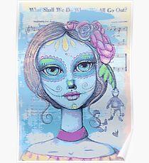 Sugar Skull Girl 2 of 3 Poster