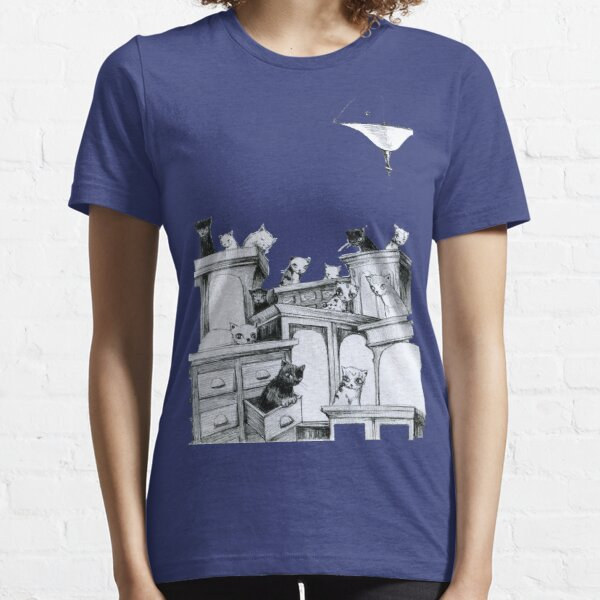 Cat Party - on the robes Essential T-Shirt