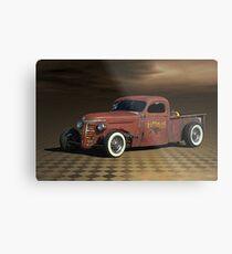 "1939 Chevrolet ""Rattitude"" Pickup Truck Metal Print"