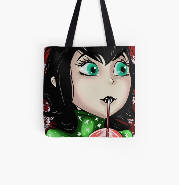 Hotel Transylvania Holidays All Over Print Tote Bag