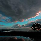 Sunrise At Nudgee Beach. Brisbane, Queensland, Australia. (4) by Ralph de Zilva