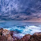 Dawn Spectrum (Borderless) - Sunrise @ Bannister Point, Mollymook by Richard Lam