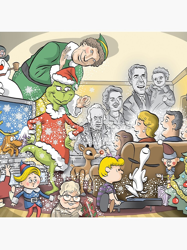 Christmas Classic characters by MacKaycartoons