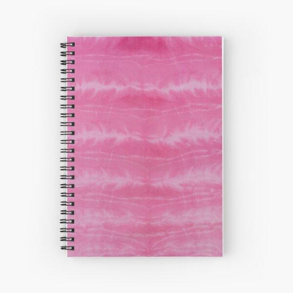 SKU557 Shibori Style - Fuschia 3 Spiral Notebook