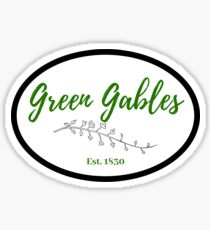 Green Gables  Sticker