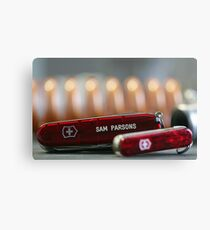 Swiss Army Knives Canvas Print