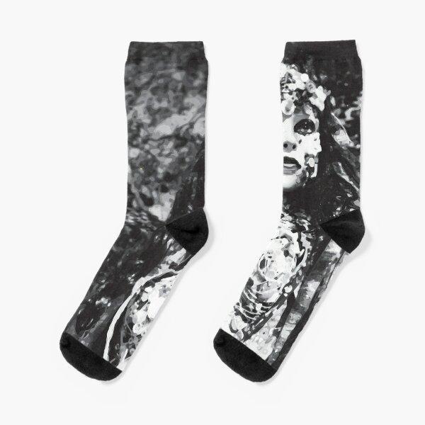 Bitter Button Socks