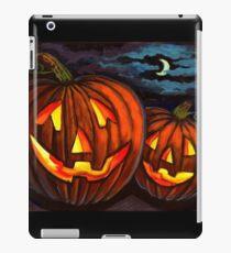 Jack-O-Lanterns iPad Case/Skin