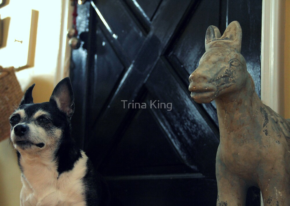 Standing Guard by Trina King