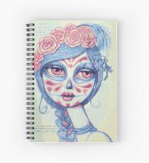 Sugar Skull Girl 3 of 3 Spiral Notebook