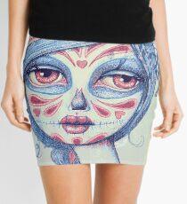 Sugar Skull Girl 3 of 3 Mini Skirt