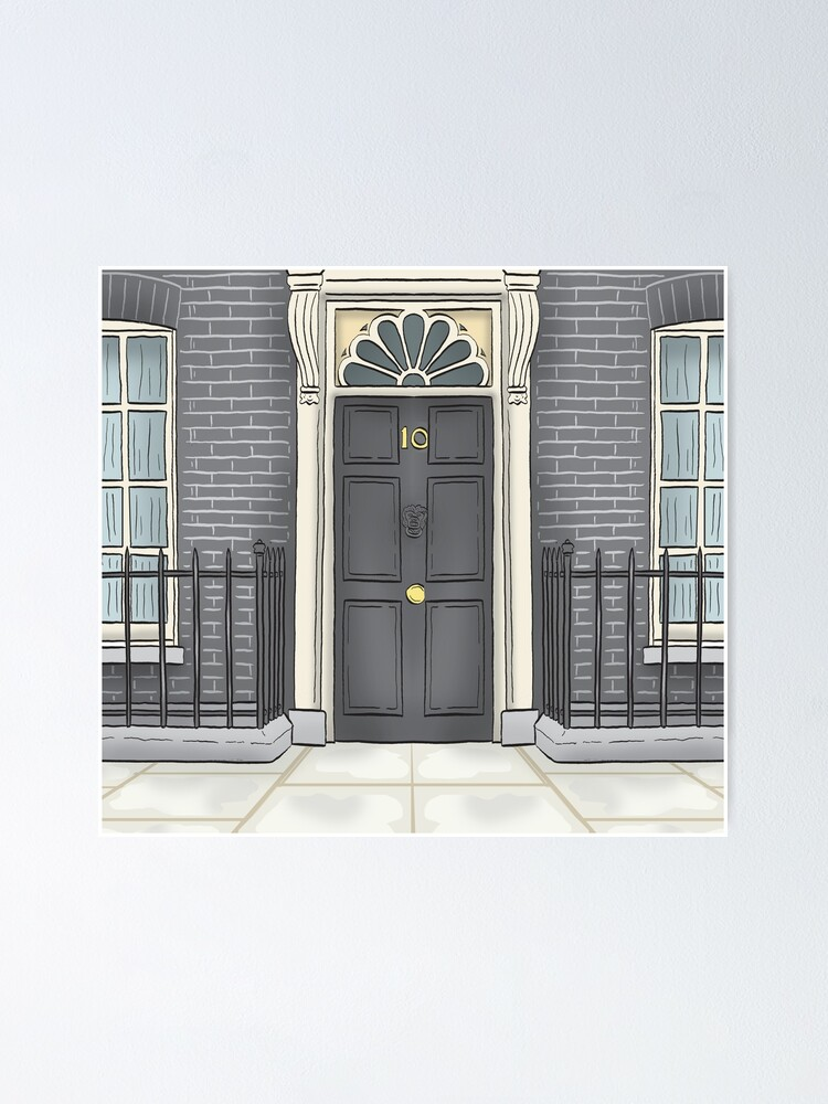 Alternate view of Number 10 Downing Street Poster