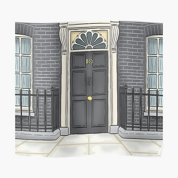 Number 10 Downing Street Poster