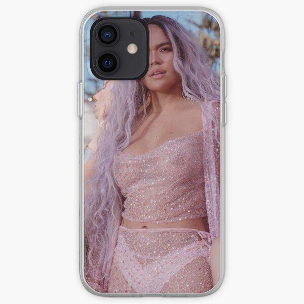 KAROL G Tusa Rose Coque souple iPhone