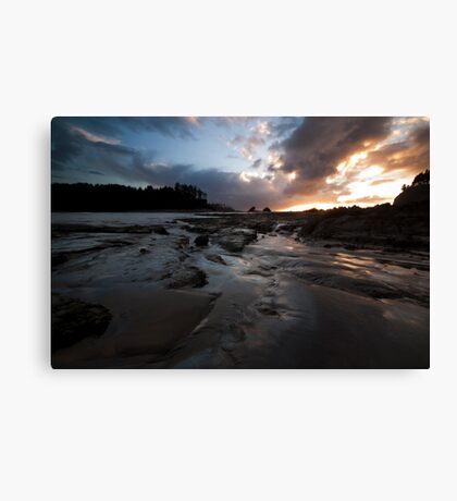 Evening of Lessons Canvas Print
