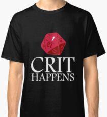 Crit Happens geek funny nerd Classic T-Shirt