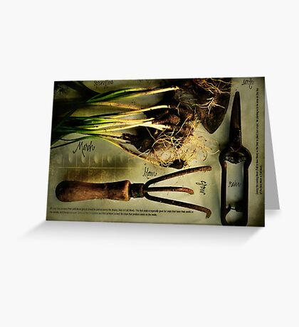Gardening by the Moon Greeting Card