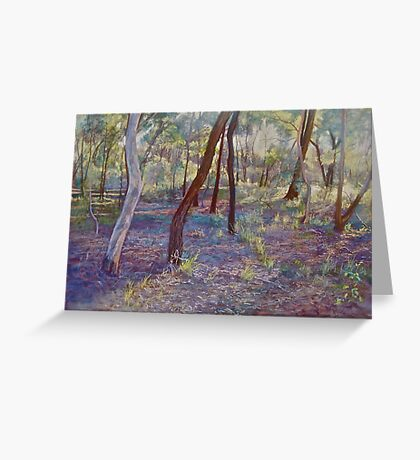 Ironbark Country (No. 3) Greeting Card