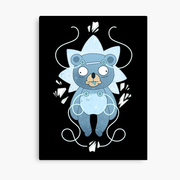 "Teddy Bear Rick - ""Nope."" Canvas Print"