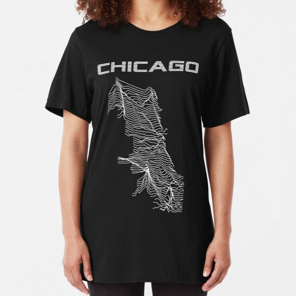 Unknown Elevations - Chicago Slim Fit T-Shirt