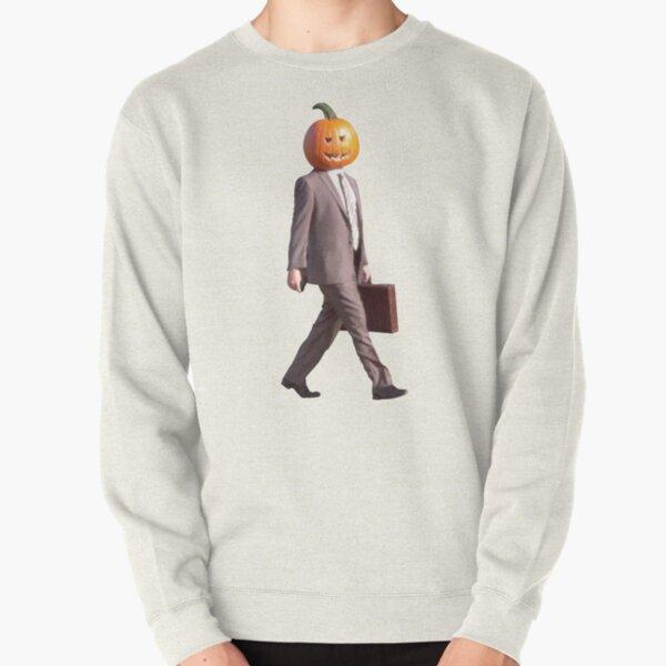 Pumpkin Head Dwight Pullover Sweatshirt