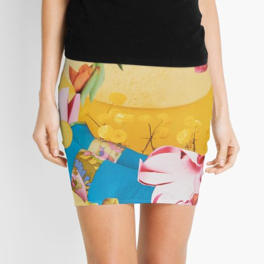 Blooms Boosting Delightful Synchronicity Mini Skirt